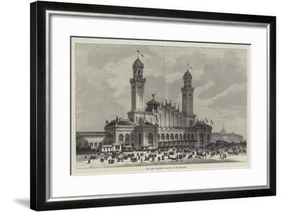 The Paris Exhibition Building at the Trocadero--Framed Giclee Print