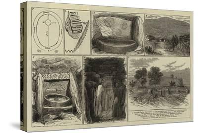 Ancient Sepulchral Mound Near Drogheda, Ireland--Stretched Canvas Print