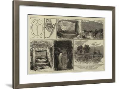Ancient Sepulchral Mound Near Drogheda, Ireland--Framed Giclee Print