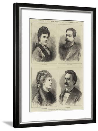 Signor Verdi's New Requiem at the Albert Hall--Framed Giclee Print