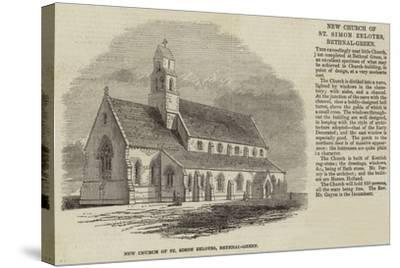 New Church of St Simon Zelotes, Bethnal-Green--Stretched Canvas Print