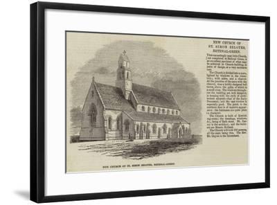 New Church of St Simon Zelotes, Bethnal-Green--Framed Giclee Print