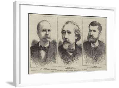 The Forthcoming International Exhibition at Paris--Framed Giclee Print