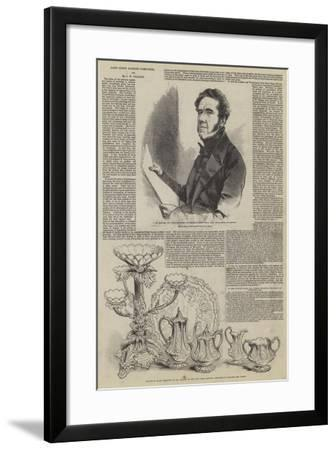 Joint Stock Banking Companies, and Mr J W Gilbart--Framed Giclee Print