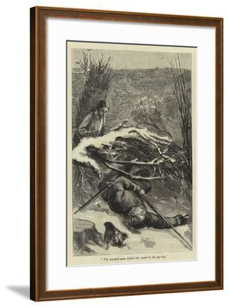 The Seventh Man Killed This Week by the Pig-Dog--Framed Giclee Print