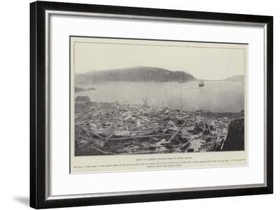 Ruins of Andree's Balloon-Shed on Danes Island--Framed Giclee Print