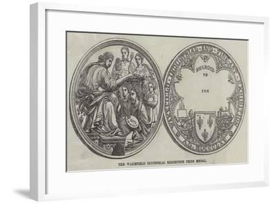 The Wakefield Industrial Exhibition Prize Medal--Framed Giclee Print