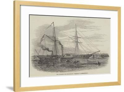 The Government Iron Steam-Frigate, Birkenhead--Framed Giclee Print