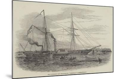 The Government Iron Steam-Frigate, Birkenhead--Mounted Giclee Print