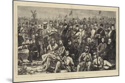 The Camp at Wimbledon, Volunteer Crack Shots--Mounted Giclee Print