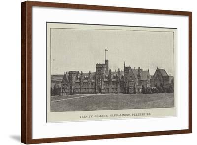 Trinity College, Glenalmond, Perthshire--Framed Giclee Print