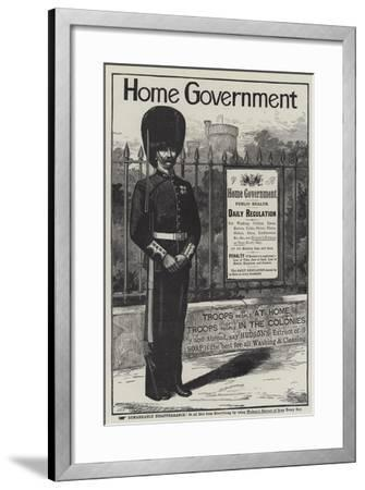 Advertisement, Hudson's Extract of Soap--Framed Giclee Print
