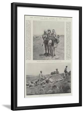 The Transvaal War, Scenes at the Front--Framed Giclee Print
