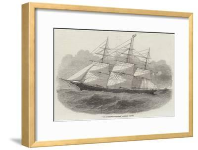 The Sovereign of the Seas American Clipper--Framed Giclee Print