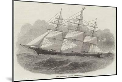 The Sovereign of the Seas American Clipper--Mounted Giclee Print