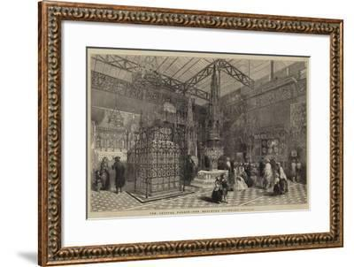 The Crystal Palace, the Mediaeval Court--Framed Giclee Print