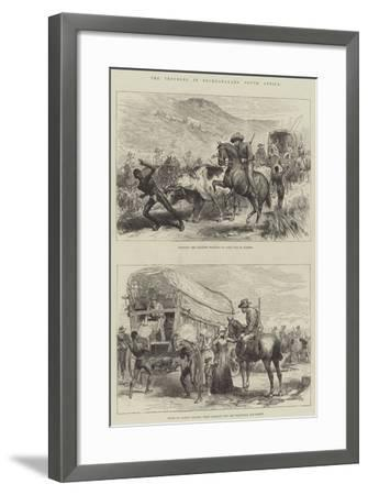 The Troubles in Bechuanaland, South Africa--Framed Giclee Print