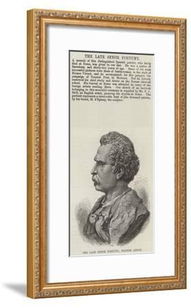 The Late Senor Fortuny, Spanish Artist--Framed Giclee Print