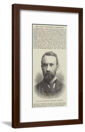 The Late Professor Carnelley, Aberdeen--Framed Giclee Print