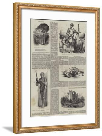 Abbotsford Edition of the Waverley Novels--Framed Giclee Print