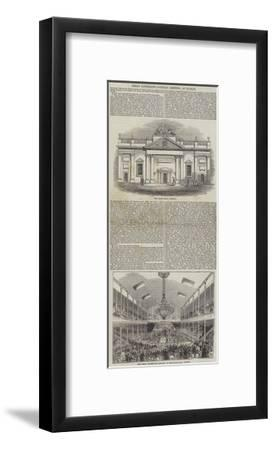 Great Aggregate Catholic Meeting, at Dublin--Framed Giclee Print