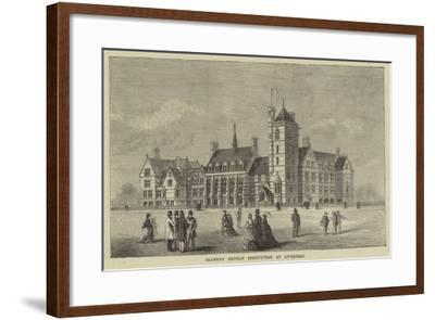 Seamens' Orphan Institution at Liverpool--Framed Giclee Print