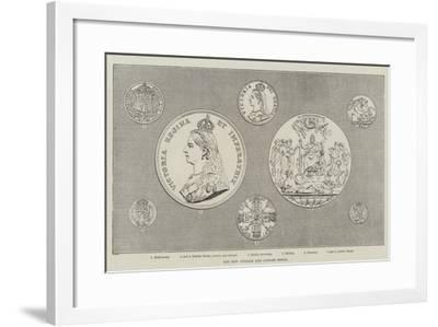 The New Coinage and Jubilee Medal--Framed Giclee Print