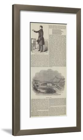 Daniel O'Connell and Derrynane House--Framed Giclee Print