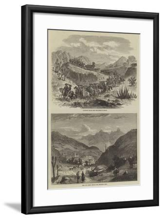 The Silver Mines of Real Del Monte--Framed Giclee Print