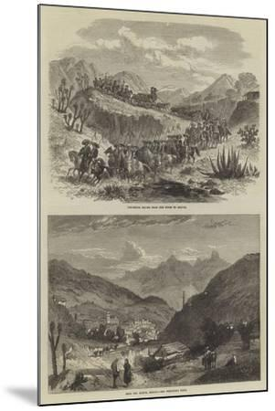 The Silver Mines of Real Del Monte--Mounted Giclee Print