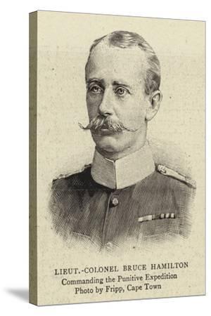 Lieutenant-Colonel Bruce Hamilton--Stretched Canvas Print
