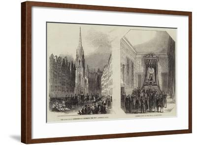 The General Assembly of Scotland--Framed Giclee Print