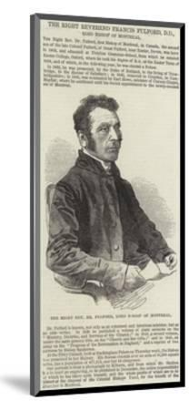 The Right Reverend Francis Fulford--Mounted Giclee Print
