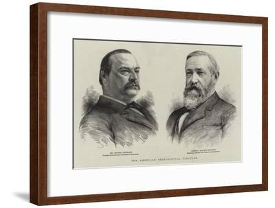 The American Presidental Election--Framed Giclee Print