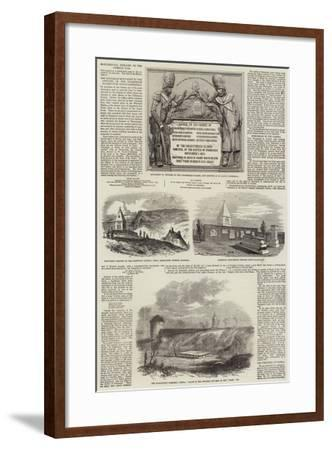 Monumental Remains of the Crimean War--Framed Giclee Print