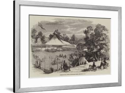 Horticultural Fete at Tunbridge Wells--Framed Giclee Print