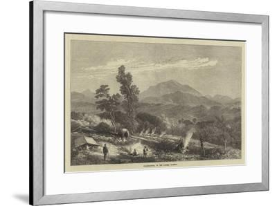 Changmaunna, in the Looshai Country--Framed Giclee Print