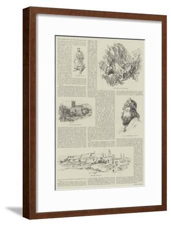 The Difficulty in the Khyber Pass--Framed Giclee Print