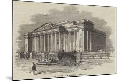 The Fitzwilliam Museum, Cambridge--Mounted Giclee Print