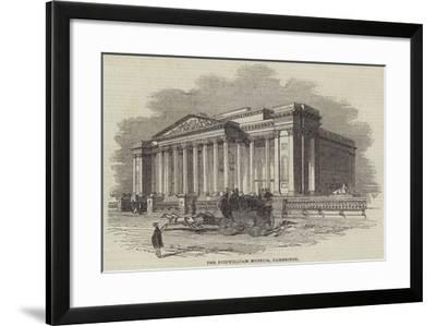 The Fitzwilliam Museum, Cambridge--Framed Giclee Print