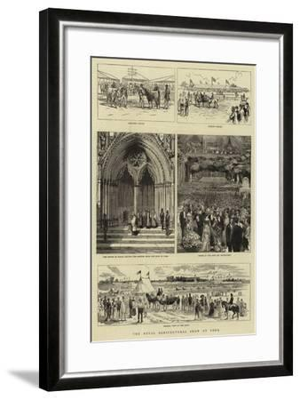 The Royal Agricultural Show at York--Framed Giclee Print