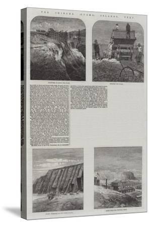 The Chincha (Guano) Islands, Peru--Stretched Canvas Print