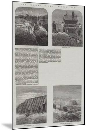 The Chincha (Guano) Islands, Peru--Mounted Giclee Print