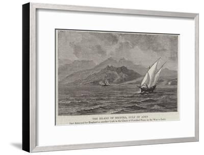 The Island of Socotra, Gulf of Aden--Framed Giclee Print