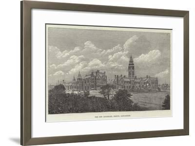 The New Infirmary, Bolton, Lancashire--Framed Giclee Print