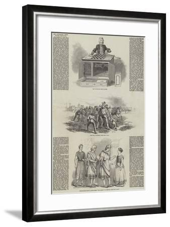 The Automaton Chess Player Redivivus--Framed Giclee Print