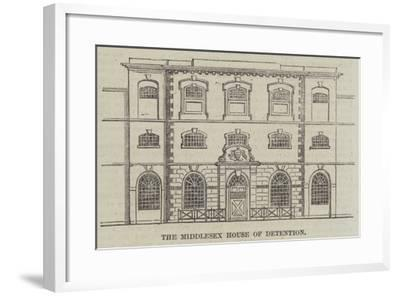 The Middlesex House of Detention--Framed Giclee Print