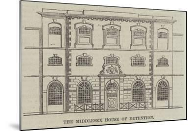 The Middlesex House of Detention--Mounted Giclee Print