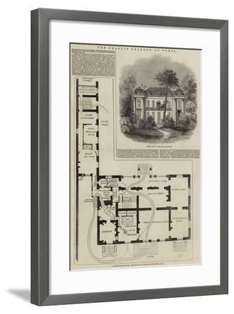 The Praslin Tragedy, at Paris--Framed Giclee Print
