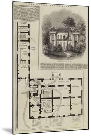 The Praslin Tragedy, at Paris--Mounted Giclee Print